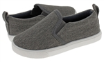 Capelli New York Textured Canvas Toddler Boys Slip On Shoe