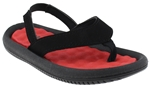 Capelli New York Faux Leather Thong Toddler Boys Flip Flops