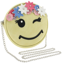 Flower Crown Emoji Cross Body