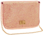 Chuncky Glitter PU Shoulder Bag