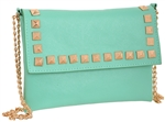 PU Cross Body Bag with Stud Border