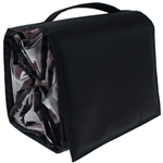 Large 4 Compartment Cosmetic Travel Roll