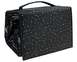 Capelli New York Large Travel Cosmetic Roll with Hanger