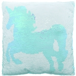 Reversible Sequin Pillow - Unicorn
