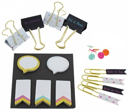 Capelli New York Assorted Stationary Accessories Kit Gift Set
