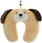 Soft Boa Travel Neck Pillow with Embroidery & 3D