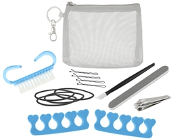 Capelli New York Travel Beauty Kit - Mesh Pouch
