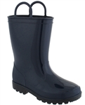 Capelli New York Shiny Boys Rain Boot With Handles