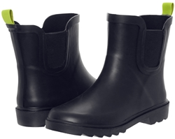 Capelli New York Boys Matte Solid Rubber Rain Boot