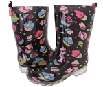 Capelli New York Girls Cupcake Printed Rain Boot