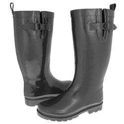 Capelli New York Gusset & Back Pull Loop Women's Tall Rubber Rain Boot