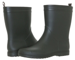 Capelli New York Matte Solid Mid-Calf Ladies Rain Boots