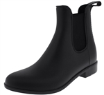 Capelli New York Ladies Matte Jodhpur Rain Boots with Elastic Gores