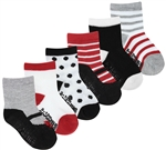 Capelli New York Infant Girls Mary Jane Socks with Grippers