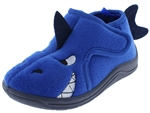 Capelli New York Toddler Boys Shark Bootie 3D Parts Velcro Closure