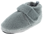 Capelli New York Toddler Boys Cozy Terri Bootie  with Faux Fur Lining