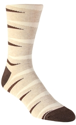 Stith Men's Backgammon Printed Dress Socks