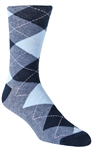 Stith Men's Argyle Printed Dress Socks