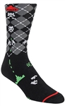 STITH Men's Argyle Invaders Printed Dress Socks