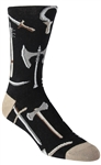 Stith Men's Medieval Weapons Printed Dress Socks