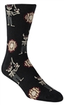 Stith Men's Viking Undead Printed Dress Socks