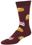 STITH Men's Taco Tuesday Print Crew Socks