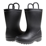 Capelli New York Matte Solid Opaque Toddler Boys Rain Boot