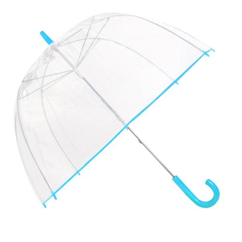 ac5ffc42728c Capelli New York Neon Printed Border Ladies Manual Stick Dome Umbrella