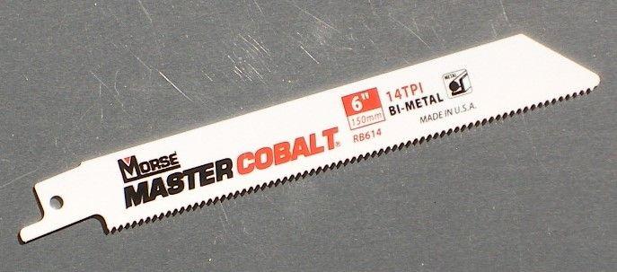 17 Piece Morse RBKITGP01 General Purpose Cobalt Reciprocating Saw Blade Set