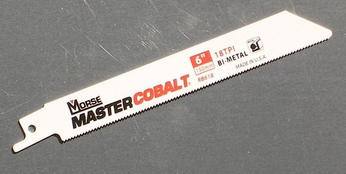 150mm metal working saw blade recipro saw