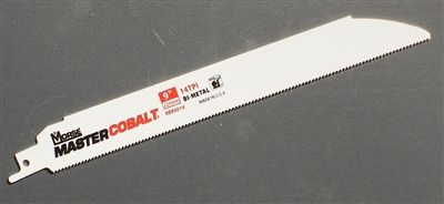 "9"" - 14 TPI Heavy Duty Sawzall Reciprocating Saw Blade"