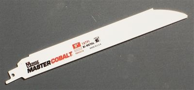 "9"" - 18 TPI Heavy Duty Metal Cutting Sawzall Reciprocating Saw Blade"