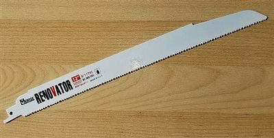 "MK Morse RENOVATOR 12"" 8/11 TPI Ultra Heavy Duty Demolition Sawzall Reciprocating Saw Blade"