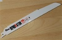 "MK Morse RENOVATOR 9"" - 8/11 TPI Ultra Heavy Duty Demolition Sawzall Reciprocating Saw Blade"