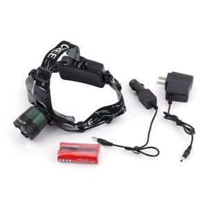 High Power 2000 Lumen LED Headlamp