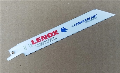 "Lenox 6"" - 14 TPI Metal Cutting Reciprocating Saw Blade"