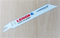 "Lenox 6"" - 10/14 TPI Wood & Metal Cutting Reciprocating Saw Blade"