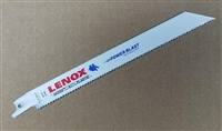 "Lenox 8"" - 10 TPI Wood & Metal Cutting Sawzall Reciprocating Saw Blade"