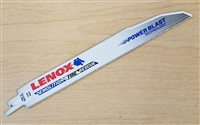 "Lenox 9"" - 10 TPI Wood & Metal Cutting Demolition/Fire/Rescue Reciprocating Saw Blade"