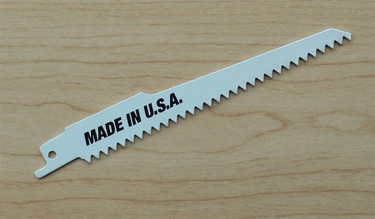 Sawzall Reciprocating wood cutting blades for Ridgid made in USA