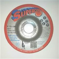 "Type 27 Cut-Off Wheel - 4-1/2"" x 0.045"" x 7/8"""