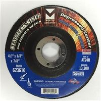 "Type 27 Cutting / Grinding Disc, 4-1/2"" x 1/8"" x 7/8"""