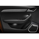 2005-2009 LR3 Door Panel - Left Front - (Black with 14 speaker system)