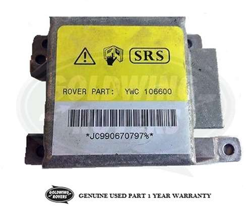 1999-2004 Land Rover Discovery II SRS Ecu Air Bag YWC106600