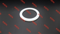 Flat white heating element gasket