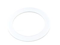 Flat white steam gasket