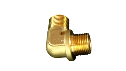"Astoria-Orchestrale-Wega Brass Elbow Fitting | 3/8""M-3/8""M"