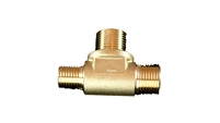 espresso machine brass split fitting