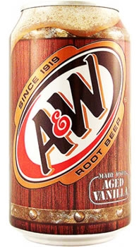 Can - A & W Root Beer (REGULAR) [24]