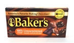 Bakers Unsweetened Baking Chocolate Squares [12]